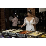 local de buffet para evento Santa Isabel